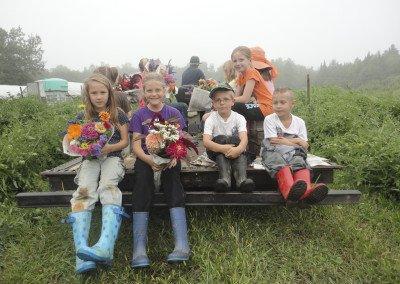 flower picking crew